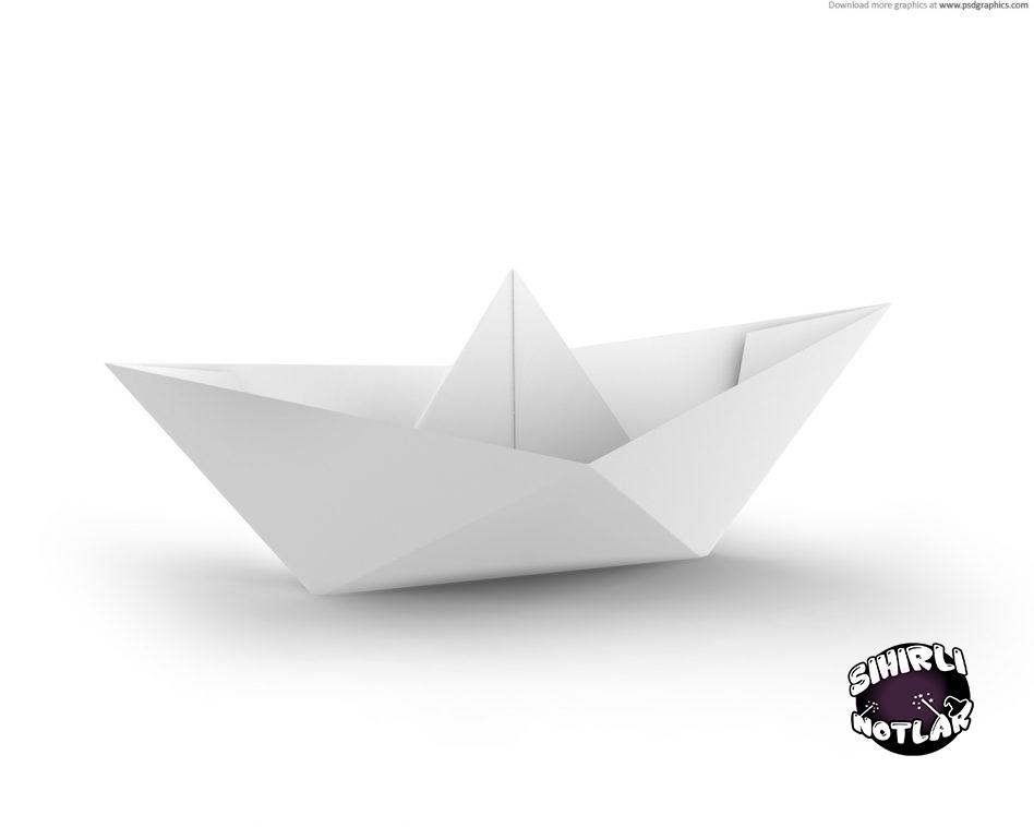 Kat Gemi Yapm Origami Sanat Sihirli Notlar